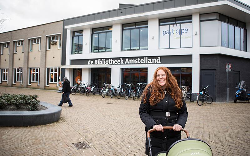 Logo van Bibliotheek Amstelveen Westwijk