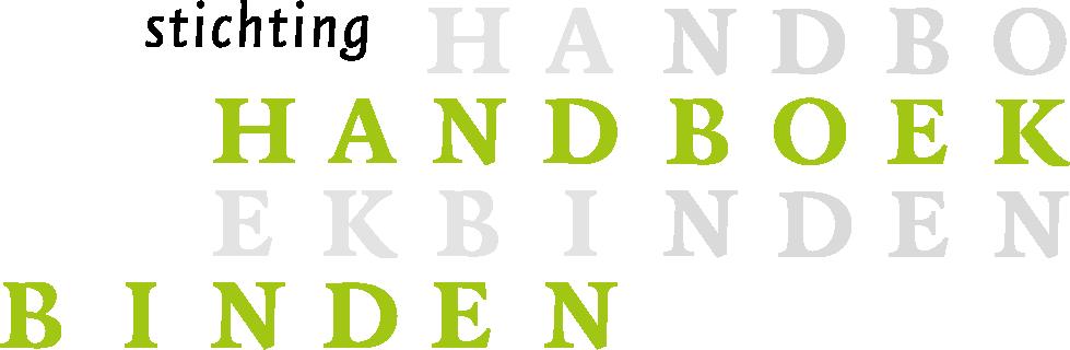 Logo van Stichting Handboekbinden