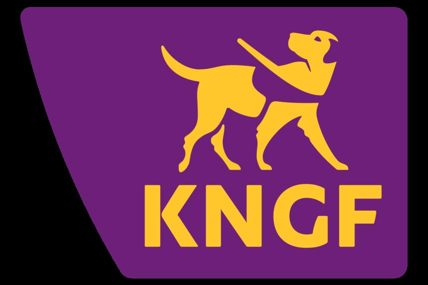 Logo van KNGF Geleidehonden