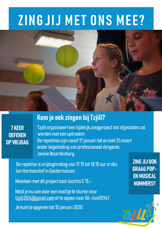 Zangproject voor kinderen/jongeren